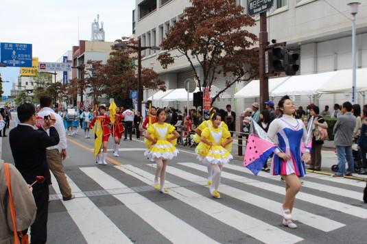 甲府大好き祭り祭り 鼓笛隊
