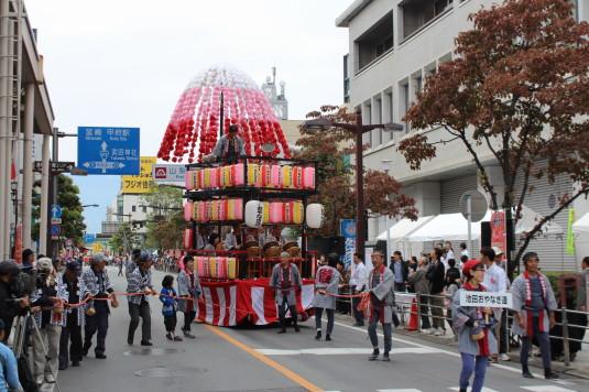 甲府大好き祭り祭り 山車