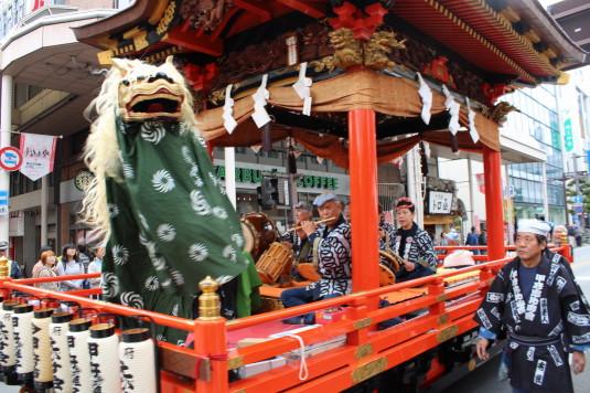 甲府大好き祭り祭り 獅子舞