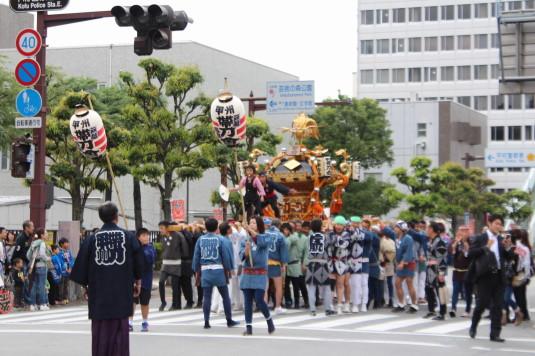 甲府大好き祭り祭り 神輿