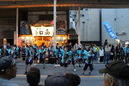 甲府大好き祭り ビートtoビート 審査会場