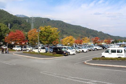 みのぶまつり 駐車場