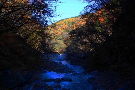 紅葉 石空川渓谷 外観