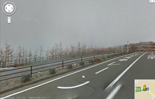 ストリートビュー 富士山五合目