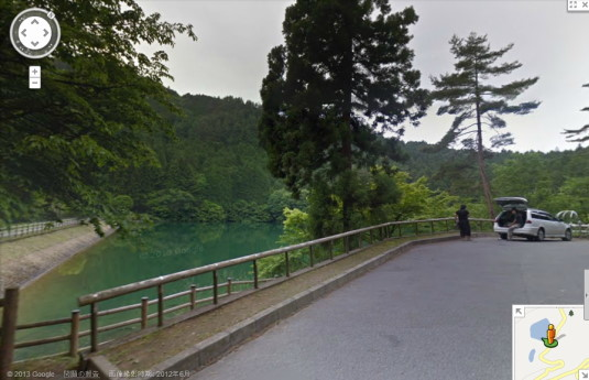 ストリートビュー 伊奈ヶ湖