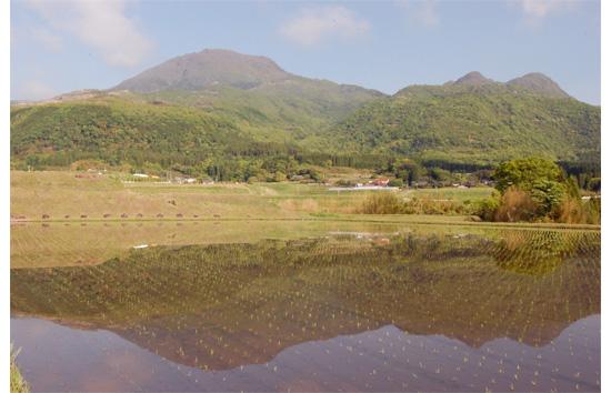 大船山と黒岳