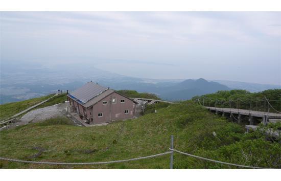 山頂から日本海