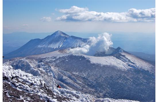 噴火直前の新燃岳