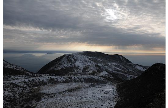 阿蘇五岳遠望