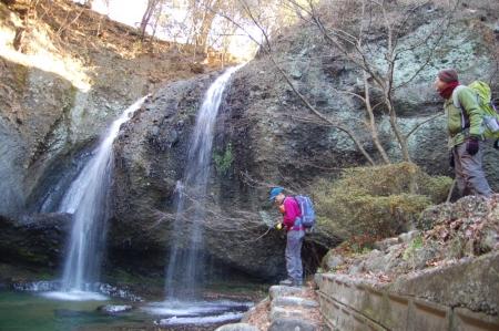 2裏見の滝