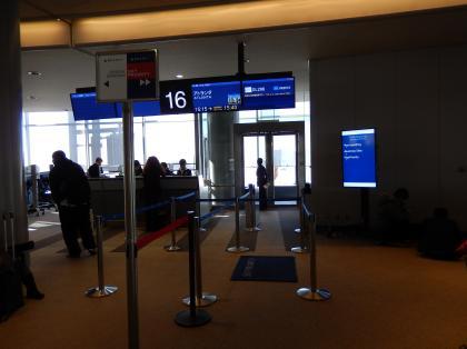 ペルー2014.1成田空港搭乗ゲート