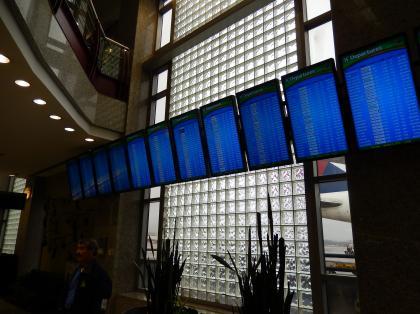 ペルー2014.1アトランタ空港ターミナルF