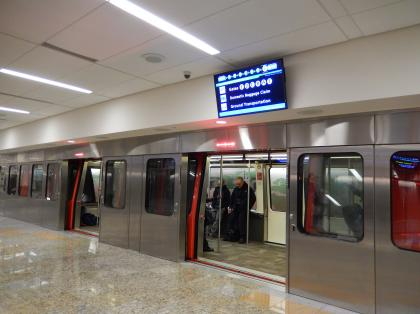 ペルー2014.1アトランタ空港トレインステーション