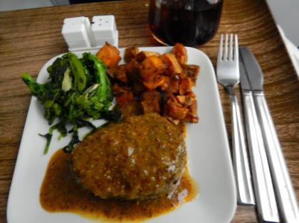 ペルー2014.1デルタ航空リマ行機内食