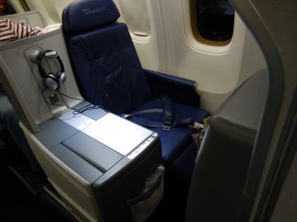 ペルー2014.1デルタ航空リマ行シート