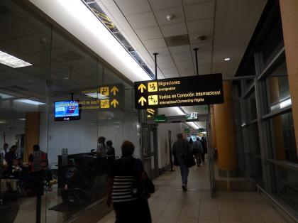 ペルー2014.1リマ空港到着
