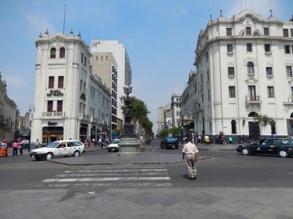ペルー2014.1リマ・サンマルティン広場