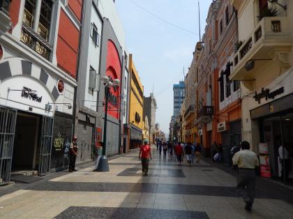 ペルー2014.1リマ・ウニオン通り