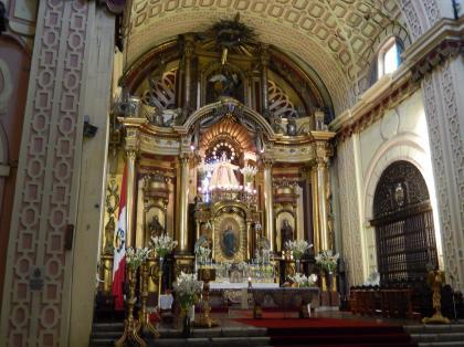 ペルー2014.1リマ・ラメルセー教会
