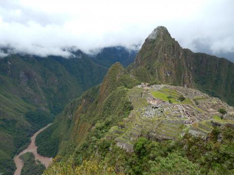 ペルー2014.1トップ用マチュピチュ