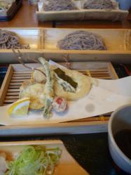 蕎麦 before