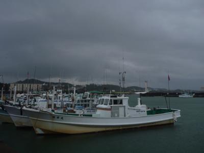 20120814 漁港にて