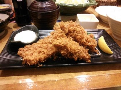 牡蠣フライとやわらかヒレかつ001
