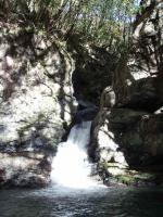 11.岩中谷手前の5m関門滝