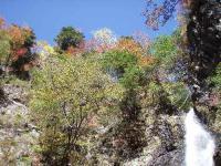22.滝と紅葉
