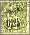 仏領スーダン加刷(1894)