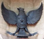 インドネシア国章レリーフ