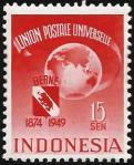 インドネシア・UPU75年