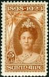 スリナム・女王在位25年