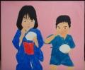 「7歳の夏祭り」塗り5回目