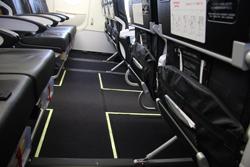 シートピッチは大手航空会社を上回る