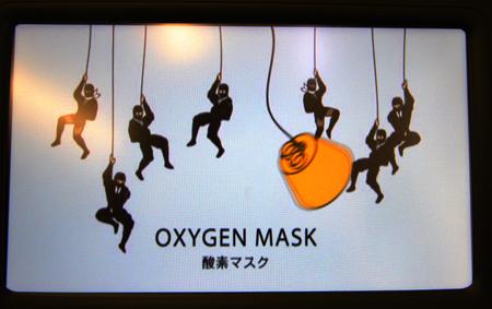 FLYER NINJA酸素マスクで降りる