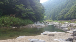 和歌山の川