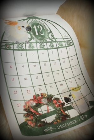seria 鳥さんカレンダー2013 (2)