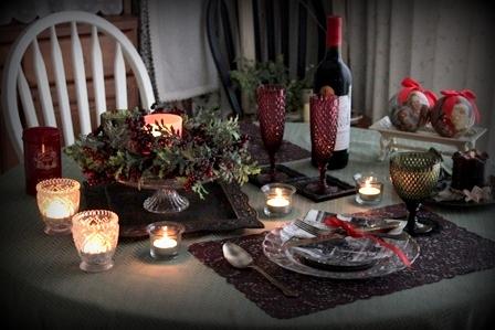 クリスマス テーブルコーディネート (6)