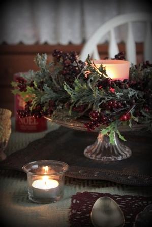 クリスマス テーブルコーディネート (4)