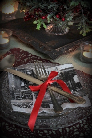 クリスマス テーブルコーディネート (3)