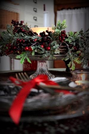 クリスマス テーブルコーディネート (7)
