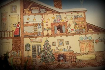 クリスマスカード 作ったよ (4)