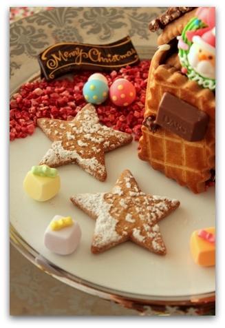 クリスマス お菓子の家 (7)