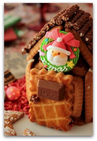 クリスマス お菓子の家