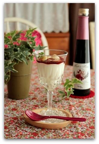 クリスマスのディナー & いちごカクテル (11)