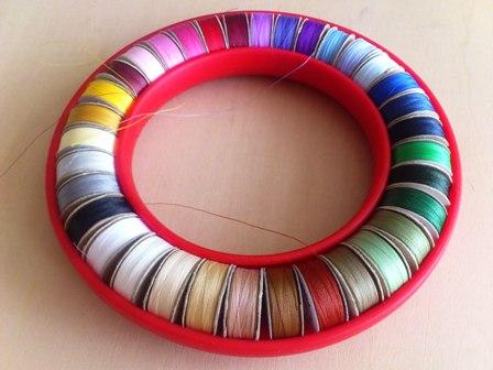 ミシンキルトの糸