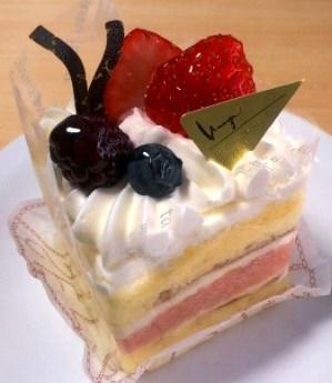 ベリーケーキ