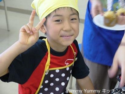 亥の子谷2012夏休み親子クッキング♪様子8