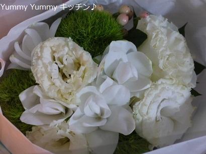 ゴンママさんからのお花